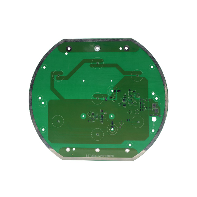 High frequency immersion gold board 4-layer board